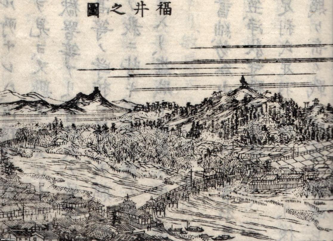 1884年】福井県(明治17年)▷福井・足羽川 | ジャパン, 大正, 福井