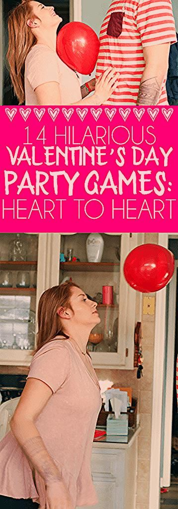 14 hilarious party games for Valentine's Day