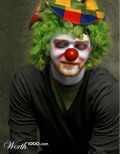 photoshop Sexy clown
