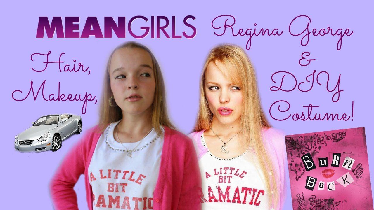 Mean Girls Regina Makeup, Hair, & DIY Halloween