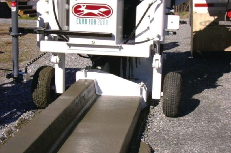 Importance Of Using A Curb And Gutter Machine For Improving The Road Design Road Design Gutter Curbing