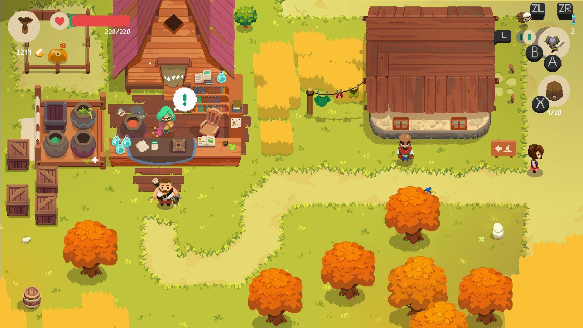 Dungeoncrawling shopkeeper RPG Moonlighter hits Switch in