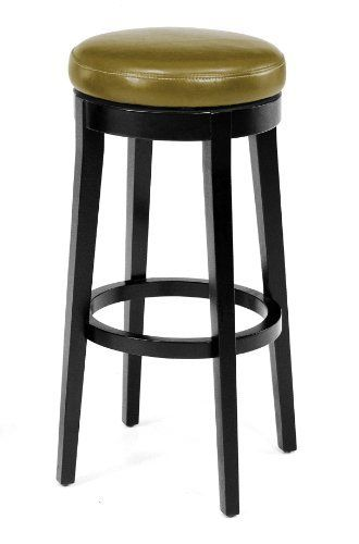 Armen Living Mbs 450 30 Inch Backless Swivel Barstool Wasabi By