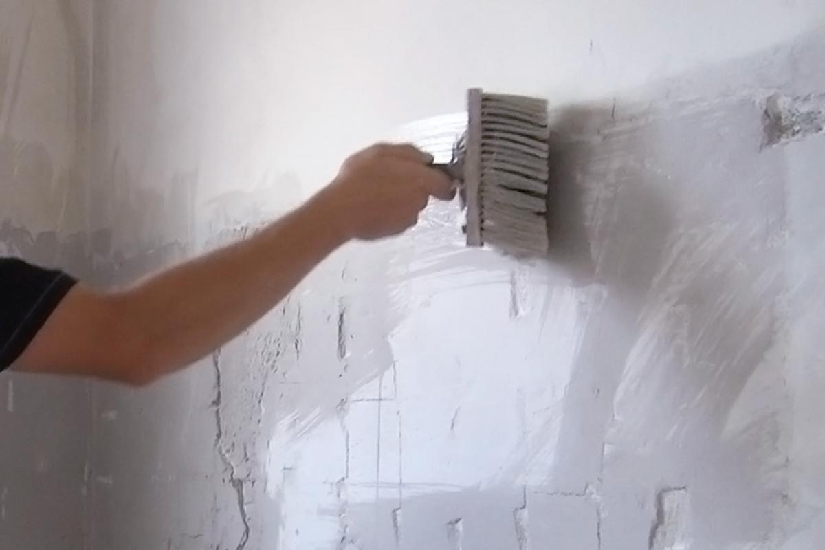 Wand Verputzen Wand Spachteln Wand Verputzen