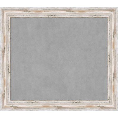 """Beachcrest Home Framed Magnetic Chalkboard Size: 29"""" H x 33"""" W x 2"""" D"""