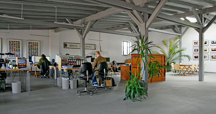 Pergola Büro