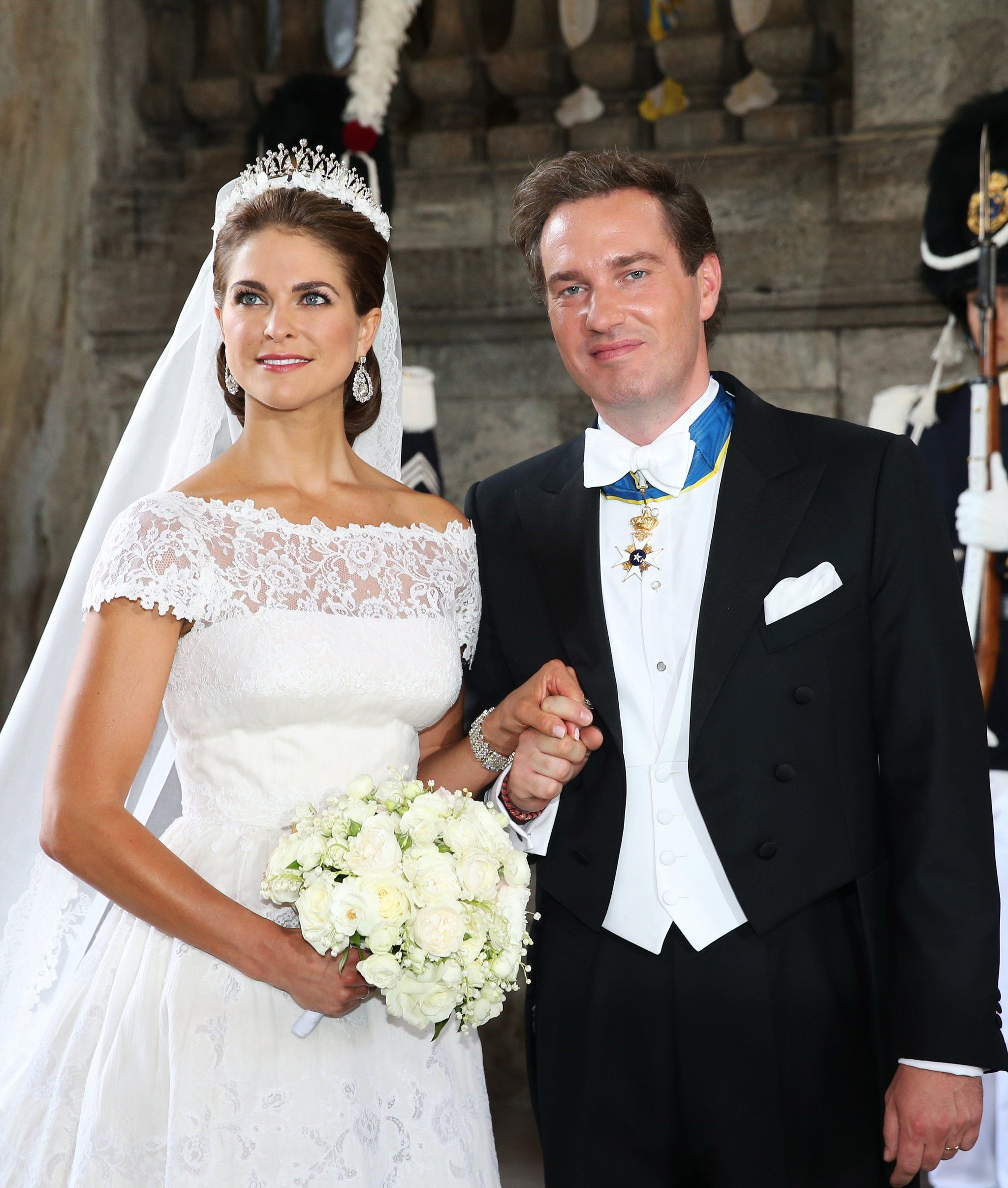 See Princess Madeleine's Valentino Wedding Dress From Every Angle: Swedish Royal Wedding Dresses At Websimilar.org