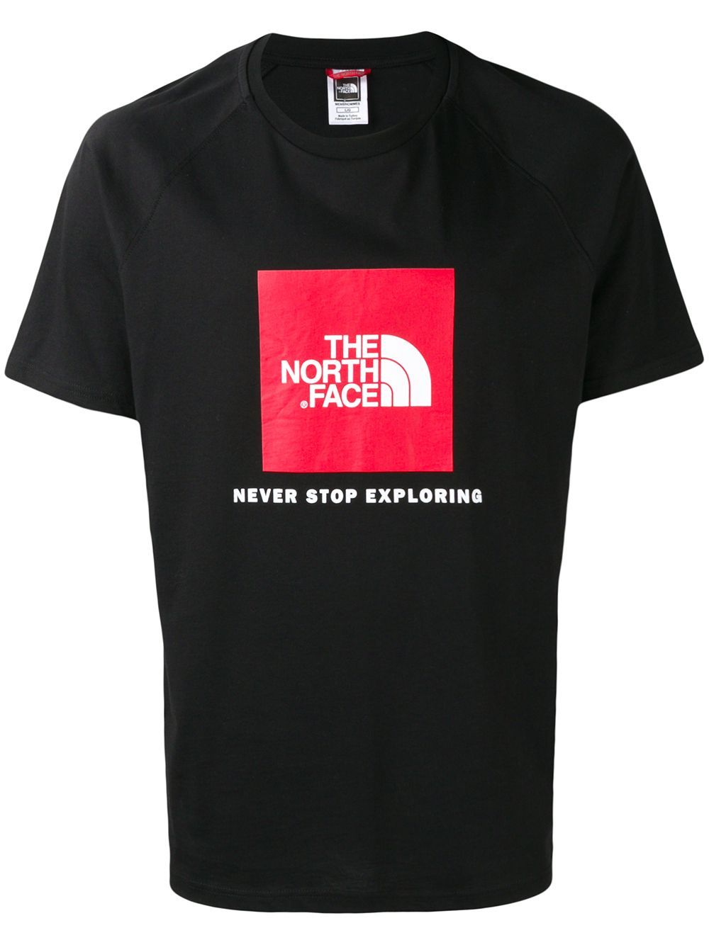 e4d420b02 THE NORTH FACE THE NORTH FACE LOGO PRINTED T-SHIRT - BLACK ...