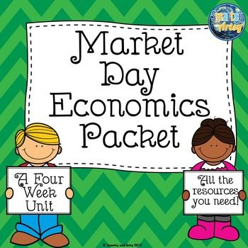 Market Day Economics Packet with Pacing Guide Templates Jo - guide templates