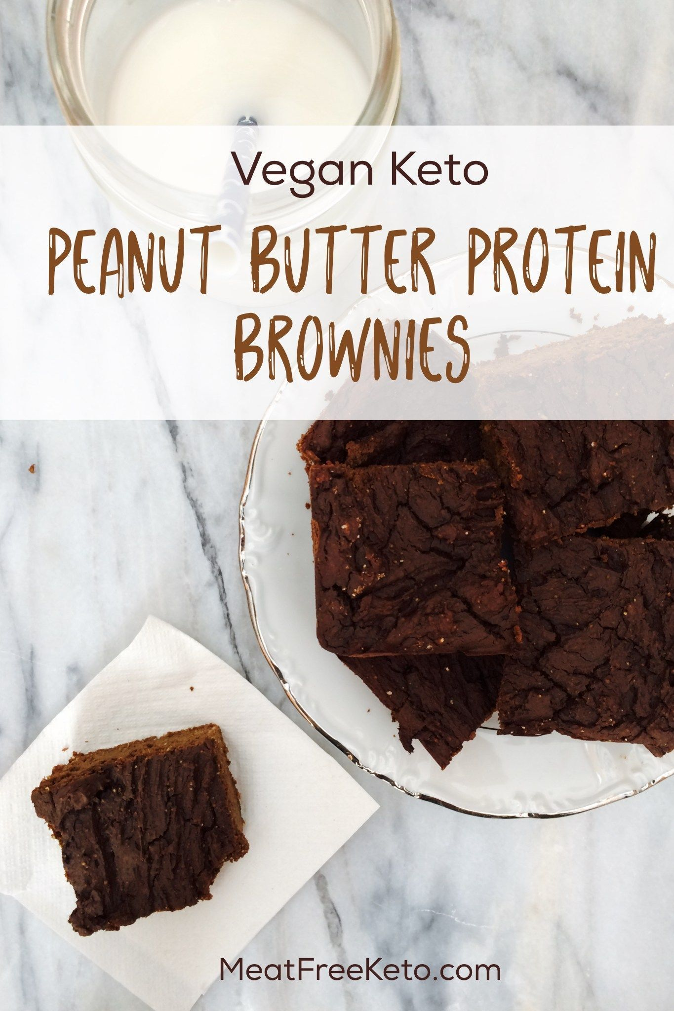 Keto Protein Brownies Vegan Keto Protein Brownies | Meat Free Ket o - a delicious gluten free, grain free, sugar free and low carb protein-filled treat!Vegan Keto Protein Brownies | Meat Free Ket o - a delicious gluten free, grain free, sugar free and low carb protein-filled treat!