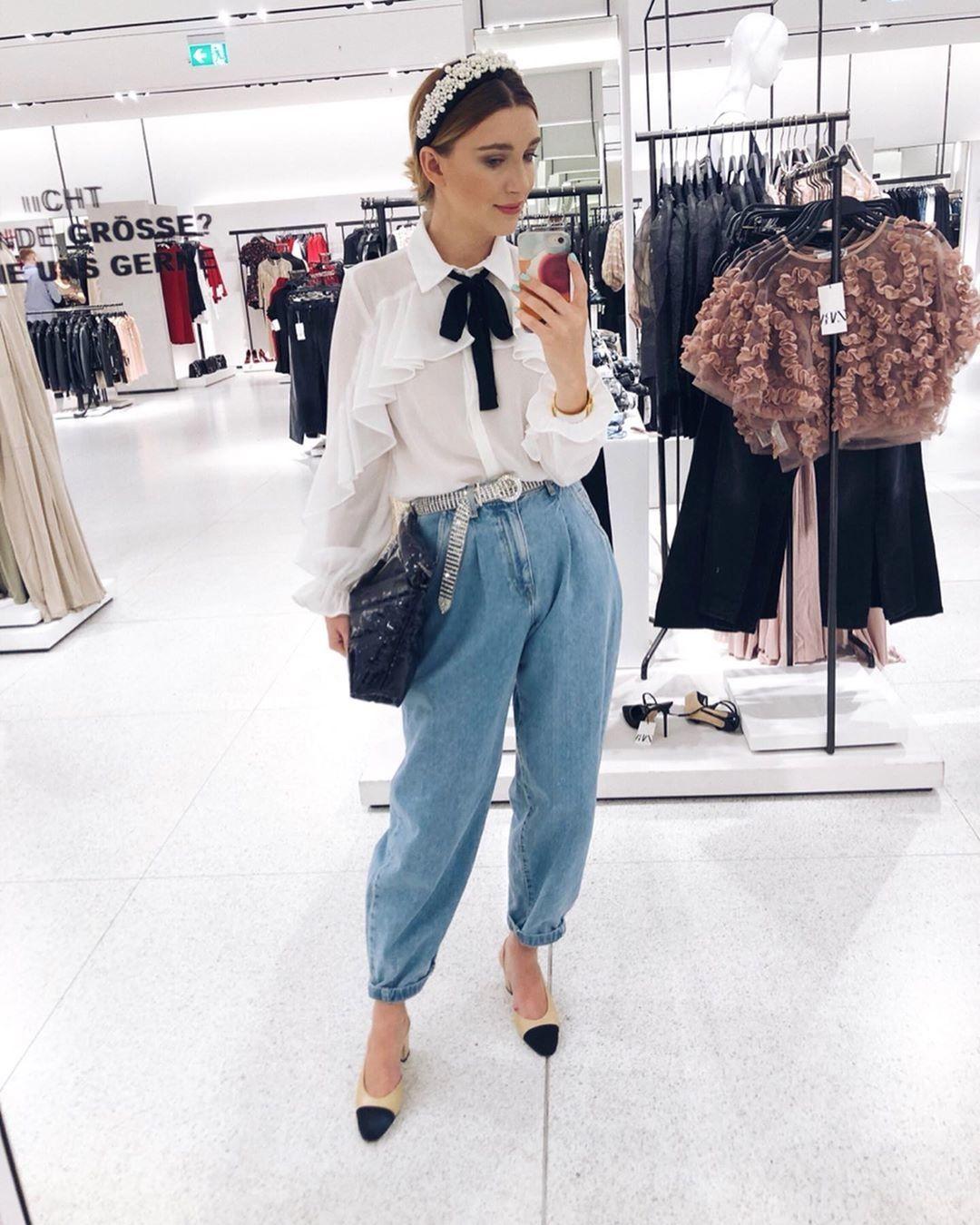 Zara tiene los slouchy jeans de la temporada, disp