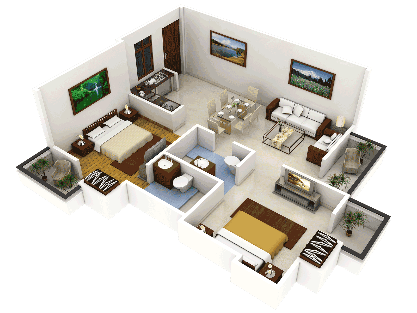 2 bhk design 40 18 feet google search projects to try
