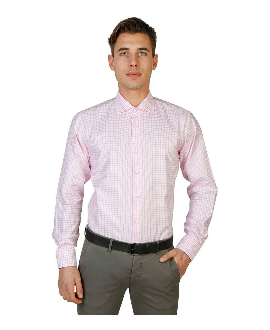 Camicia uomo  Rosa TRUSSARDI - Primavera Estate - titalola.com