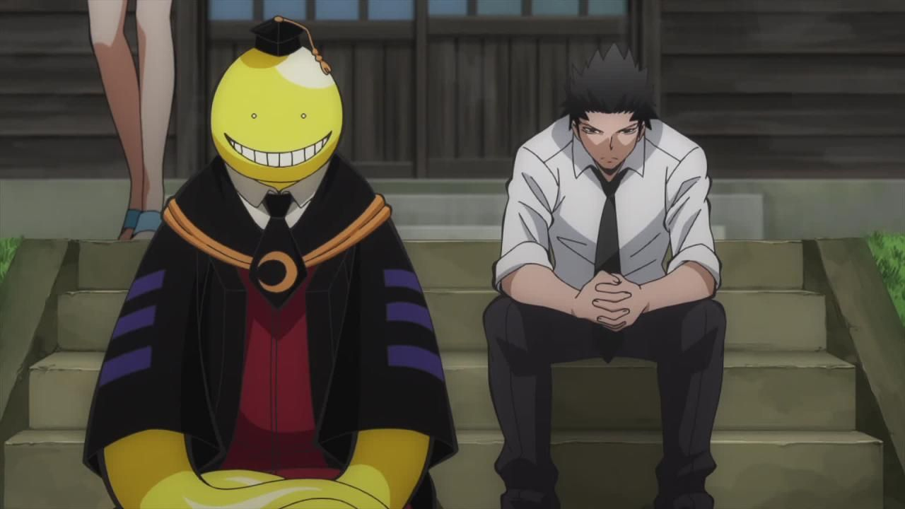 Assassination Classroom Karasuma | Assassination Classroom Épisode 13 : Séquence…