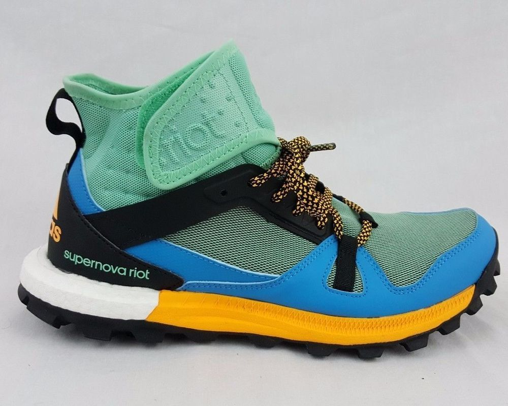 finest selection 0bd5b 91c32 Adidas Supernova Riot Boost Solar Trail Womens Running Shoes AF5656 Size 7   adidas  supernovariot  Hiking