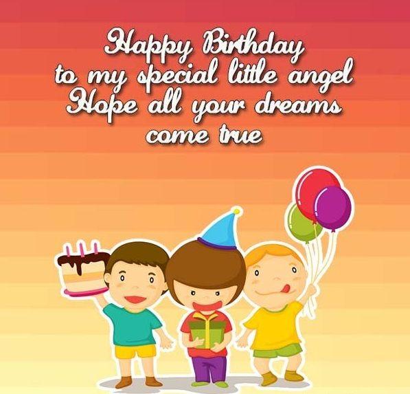 Kids Birthday Wishes: Happy Birthday Wishes For Kids, Happy Birthday Wishes For