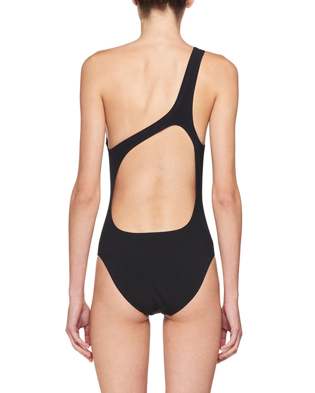 47e99ced9d Isabel Marant Sage One-Shoulder Open-Back Bodysuit | Products | Sage ...