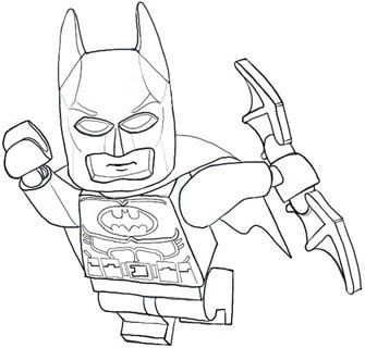 Batman Coloring Page 1 Con Imagenes Batman Para Colorear