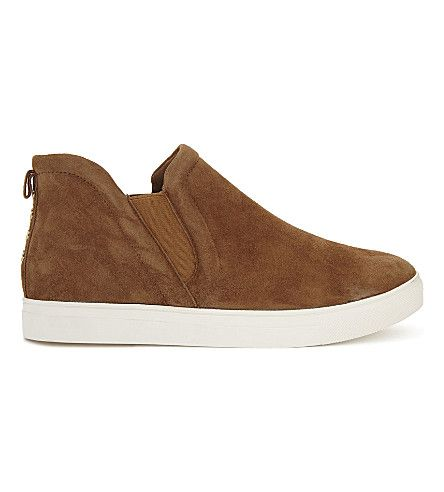 aldo cadonna suede slipon trainers with images  slip