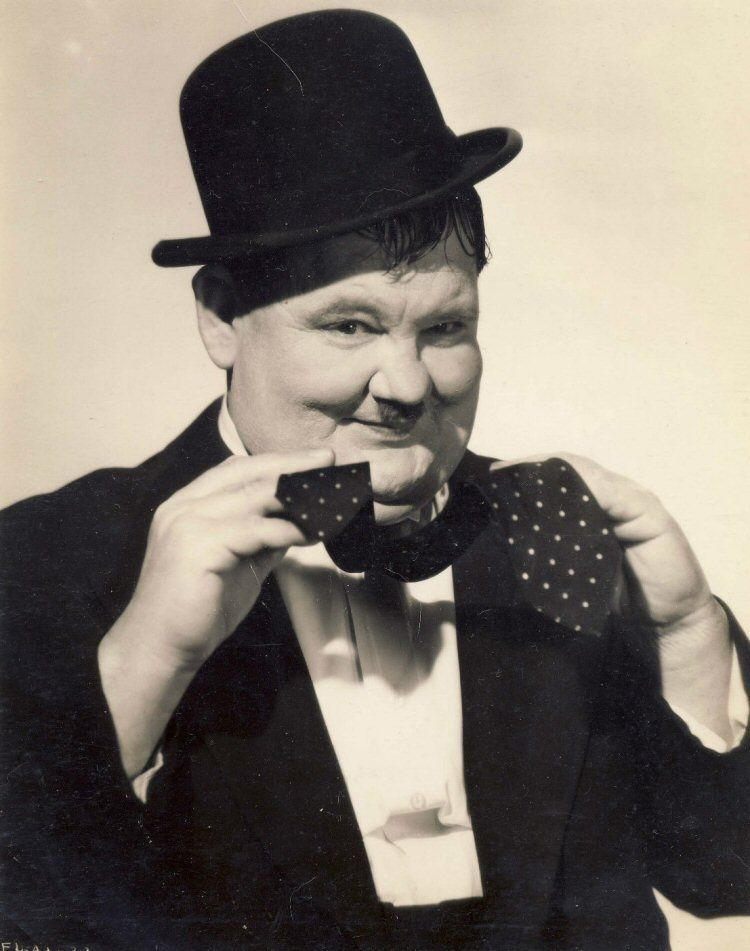 Image result for oliver hardy tie