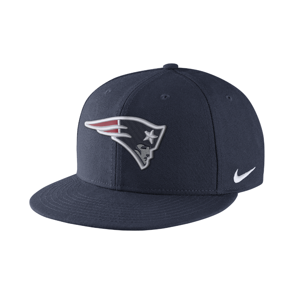 Nike Color Rush True (NFL Patriots) Adjustable Hat (Blue) - Clearance Sale ac2f18bdc