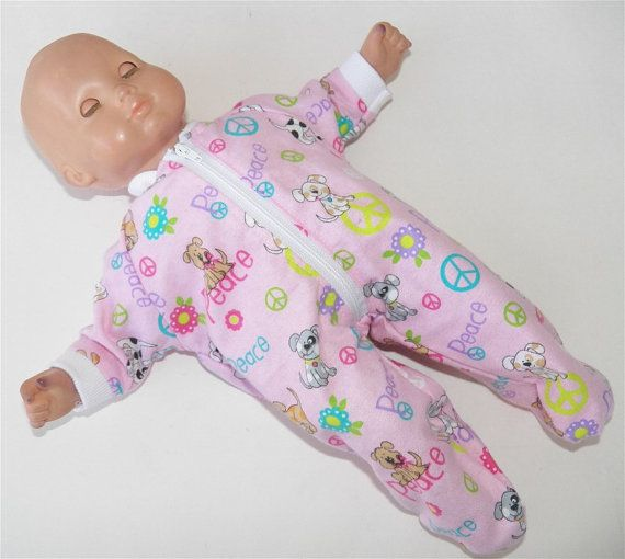 Doll Clothes Baby Made2 Fit America Girl 15 in Bitty Dress Bunnies Lilic Spring