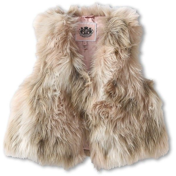 817cb390809a Juicy Couture Kids Fur Vest (Toddler Little Kids Big Kids) ( 111 ...