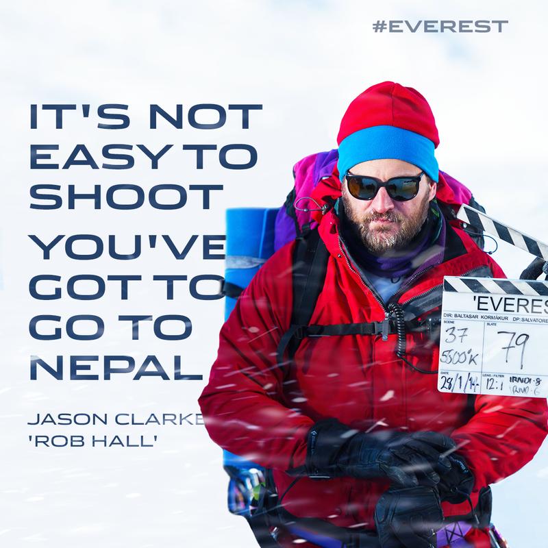 Leffamaailma @leffamaailma 16. syyskuuta 2 0 1  5  Finnkinon Everest-ennakolla kerättiin 5920 euroa SPR:n Katastrofirahastolle. #EverestElokuva tulee ensi-iltaan 25.9.