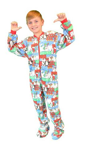 9fcba7ceba65 Kids Big Feet Pajamas
