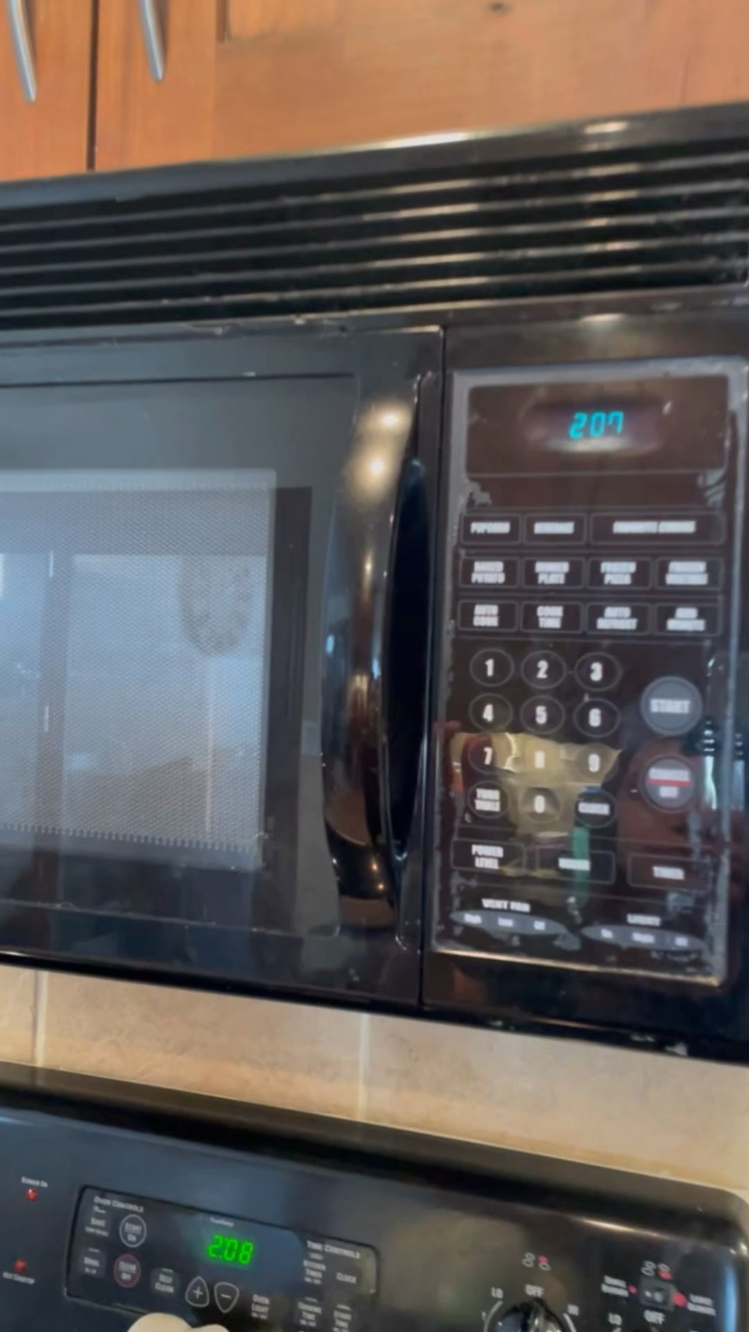 Clean microwave with your Angry Mama