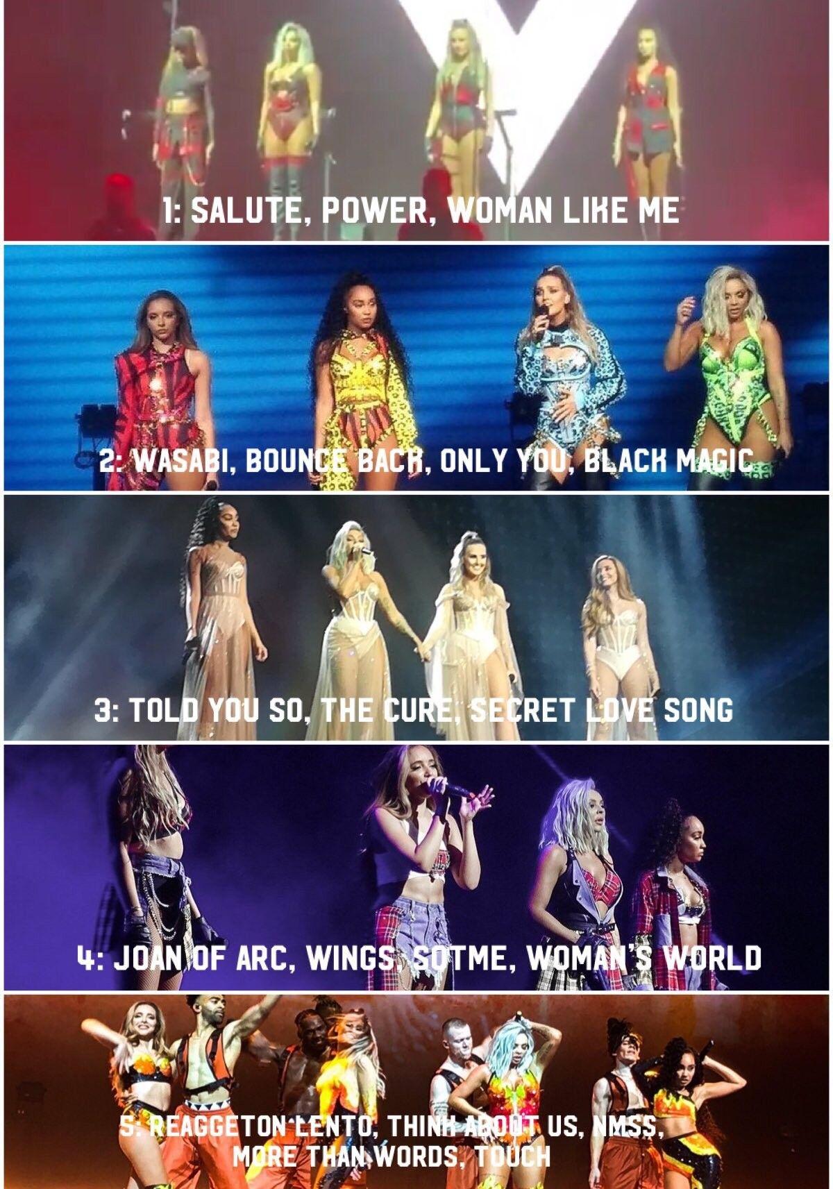 Little Mix clothes on Tour 2019 | Little mix lyrics, Little mix outfits, Little  mix funny