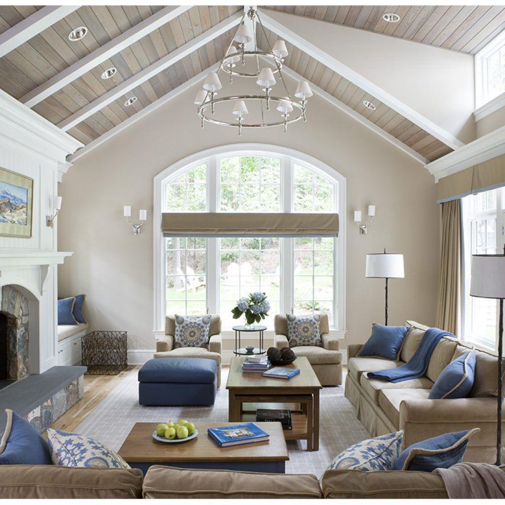 mclean-7   Vaulted ceiling living room, Living room ...