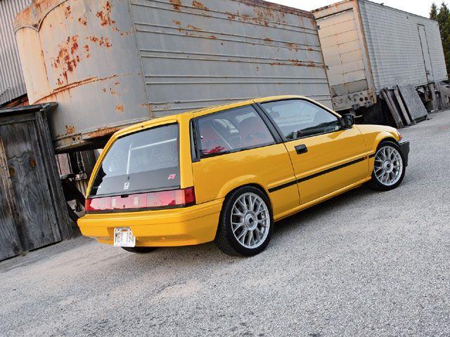 3rd gen civic yellow cars honda honda civic et honda. Black Bedroom Furniture Sets. Home Design Ideas