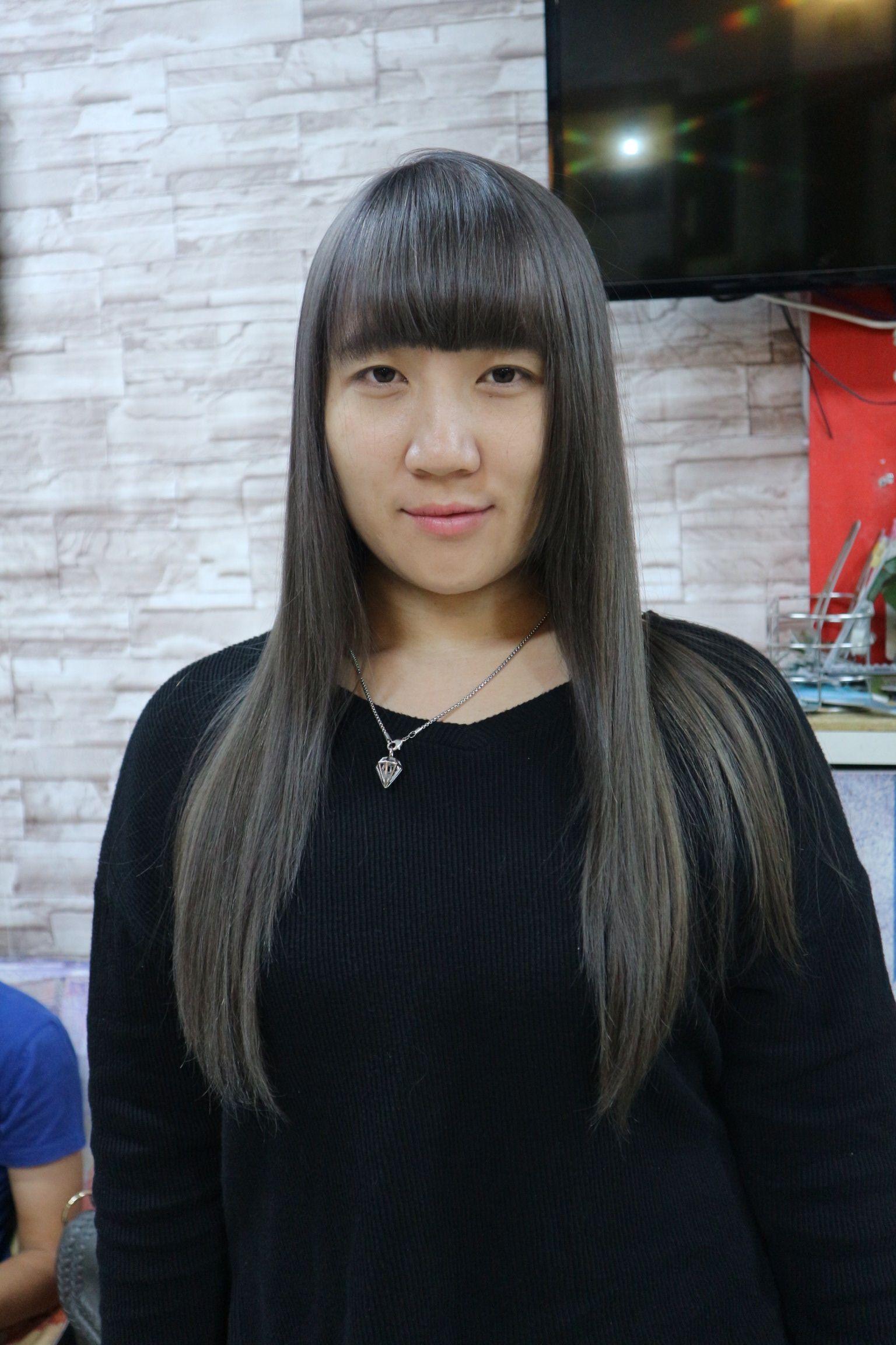 สีเท่าผมยาวๆ#Lisbyyo #nimman #hair #hairstyle #haircut #haircolor #chiangmai #thailand #thankyou