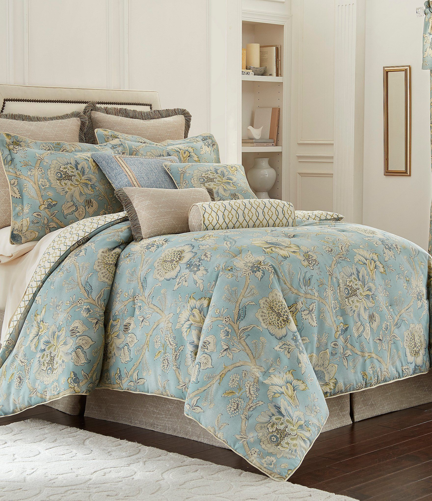 Rose Tree Odessa Floral Jacobean Comforter Set #Dillards ...