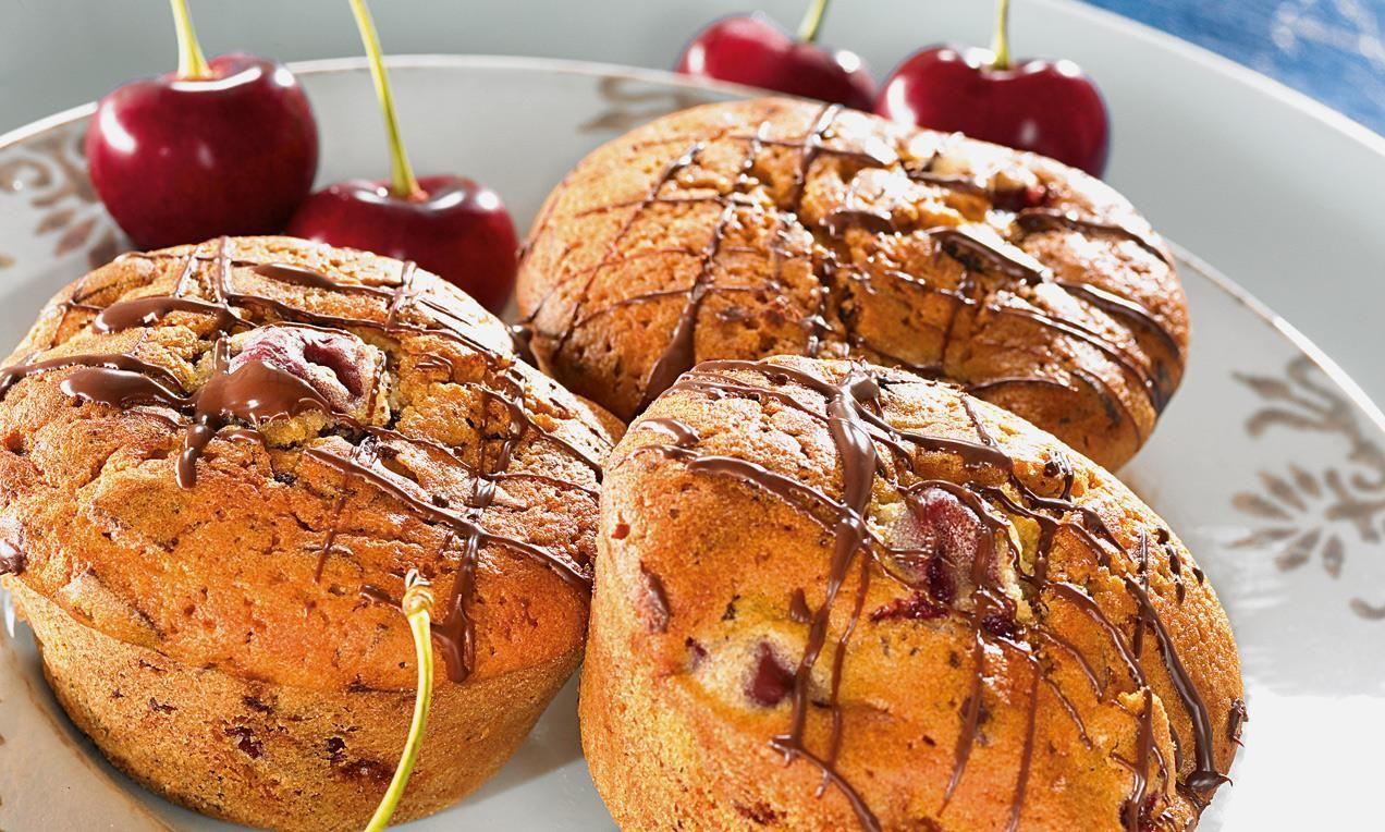 Mon Chéri®-Muffins Rezept | Dr. Oetker