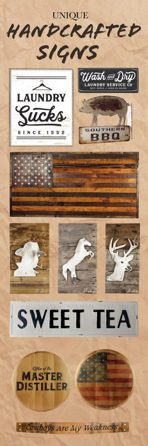 Handcrafted collection of unique rustic humorous southern wall handcrafted collection of unique rustic humorous southern wall decor each sign is amipublicfo Images