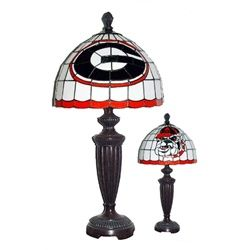 University of Georgia Bulldogs UGA Stained Glass Desk Lamp ...
