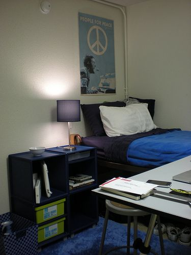 Clean Dorm Room: Dorm Design, Dorm, Dorm Room