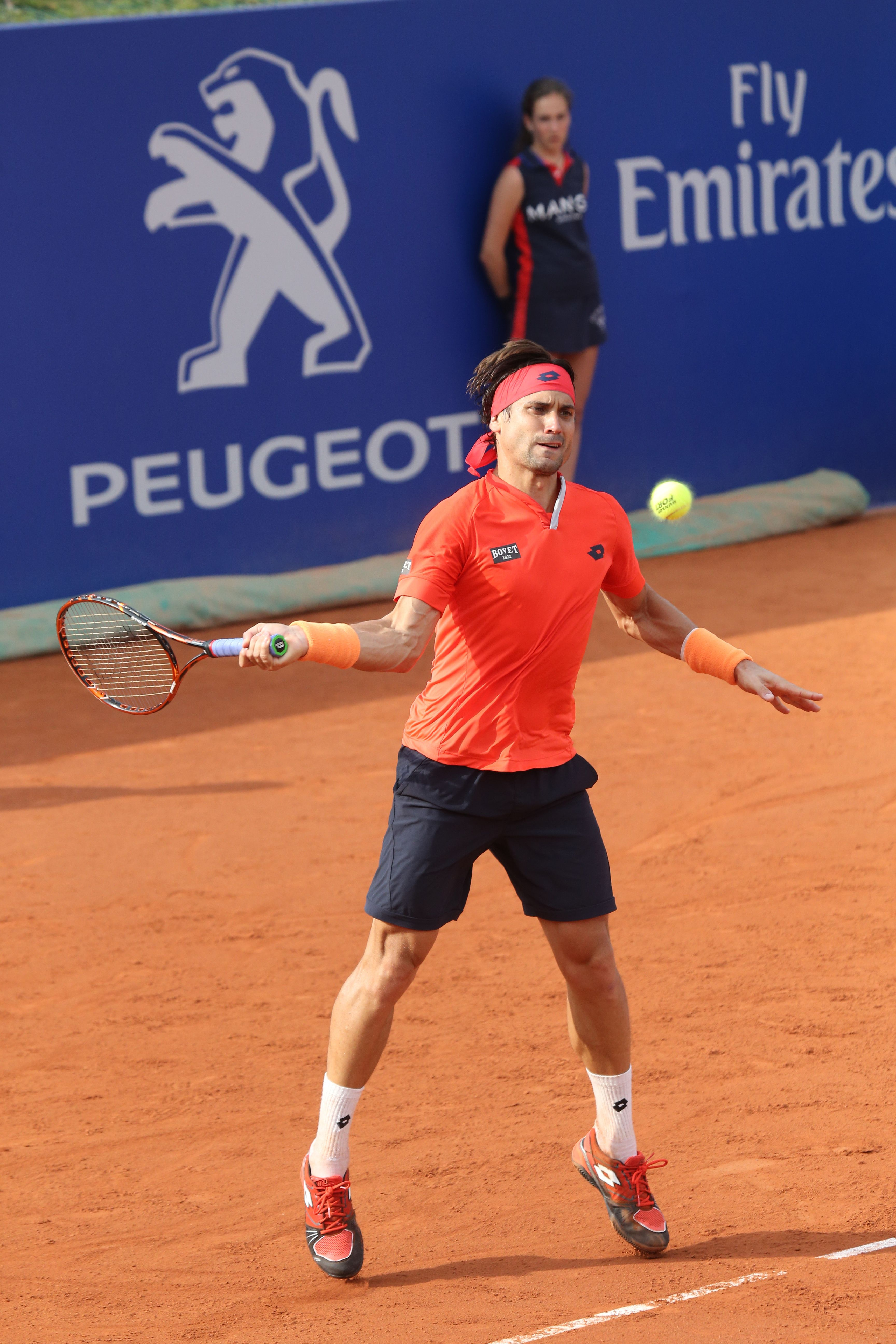 David Ferrer with Tennis by Peugeot #Tennis #Peugeot #Ambassador