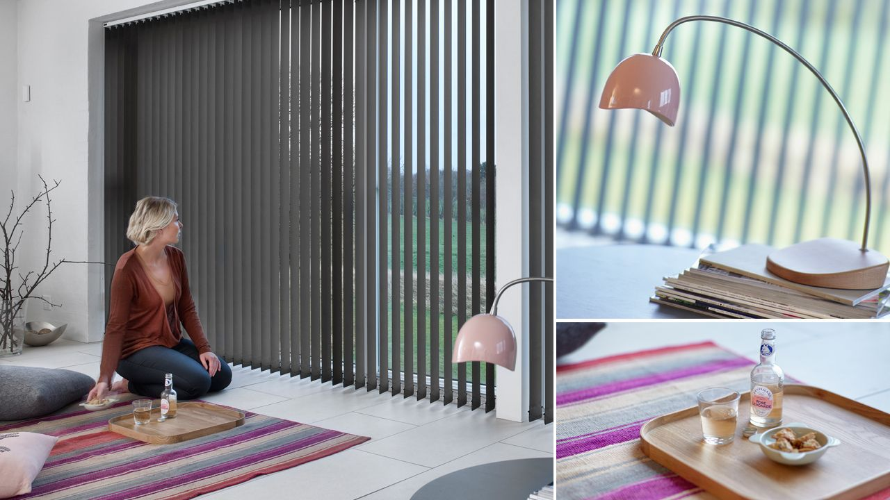 designer vertical blinds new style luxaflex vertical blinds create elegant simplicity for larger windows the new collection includes modern and exclusive designer fabrics beautiful