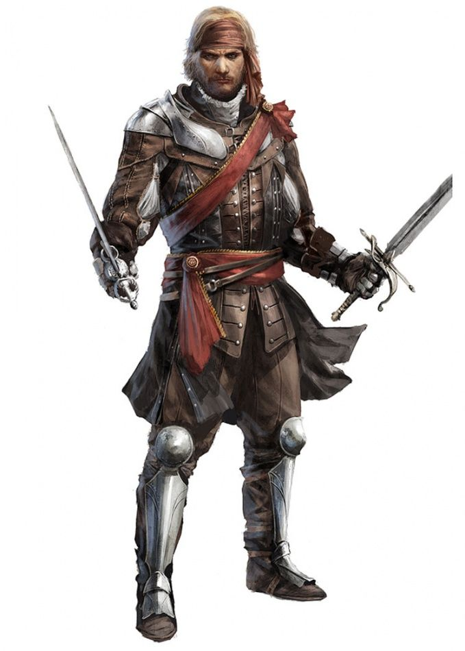 Assassin S Creed Iv Black Flag Character Assassins Creed Black