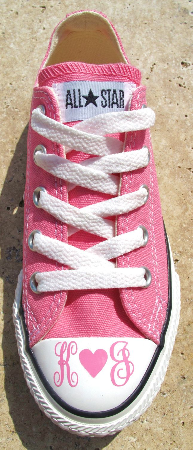 Pin By Kay Bellissima On Monogrammed Converse Monogram