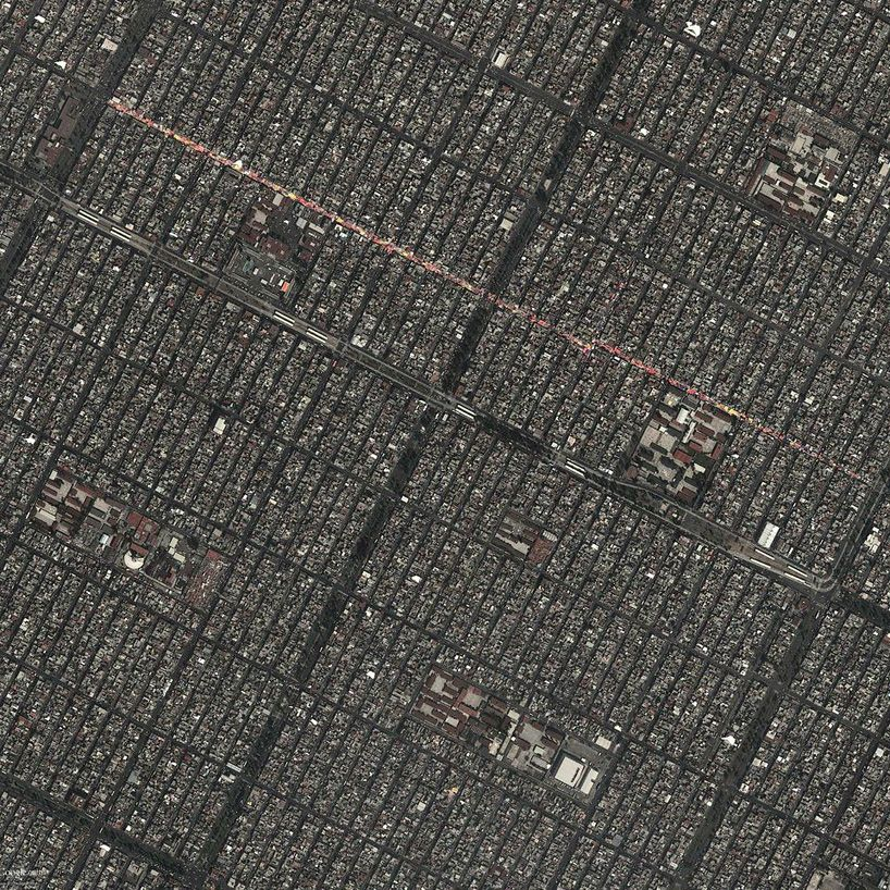 Exhibition Of Google Earth Views Maps The Changing Face Of