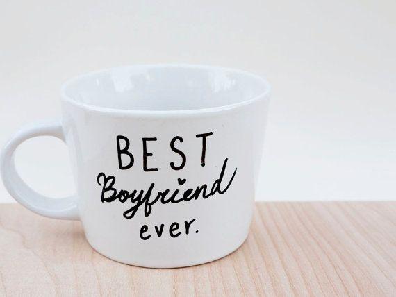 Items similar to Best Boyfriend Ever Mug // Best Boyfriend Mug // Best Girlfriend Mug // Custom Mug // Gift for Boyfriend // Gift for Girlfriend on Etsy