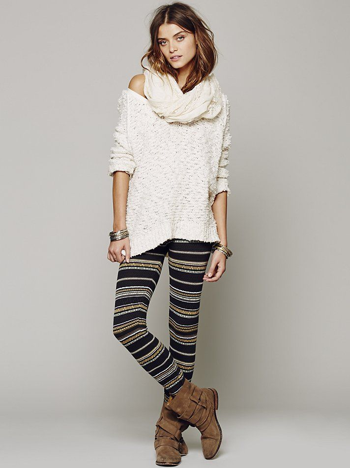 Free People Winter Story Sweater Legging at Free People Clothing ...