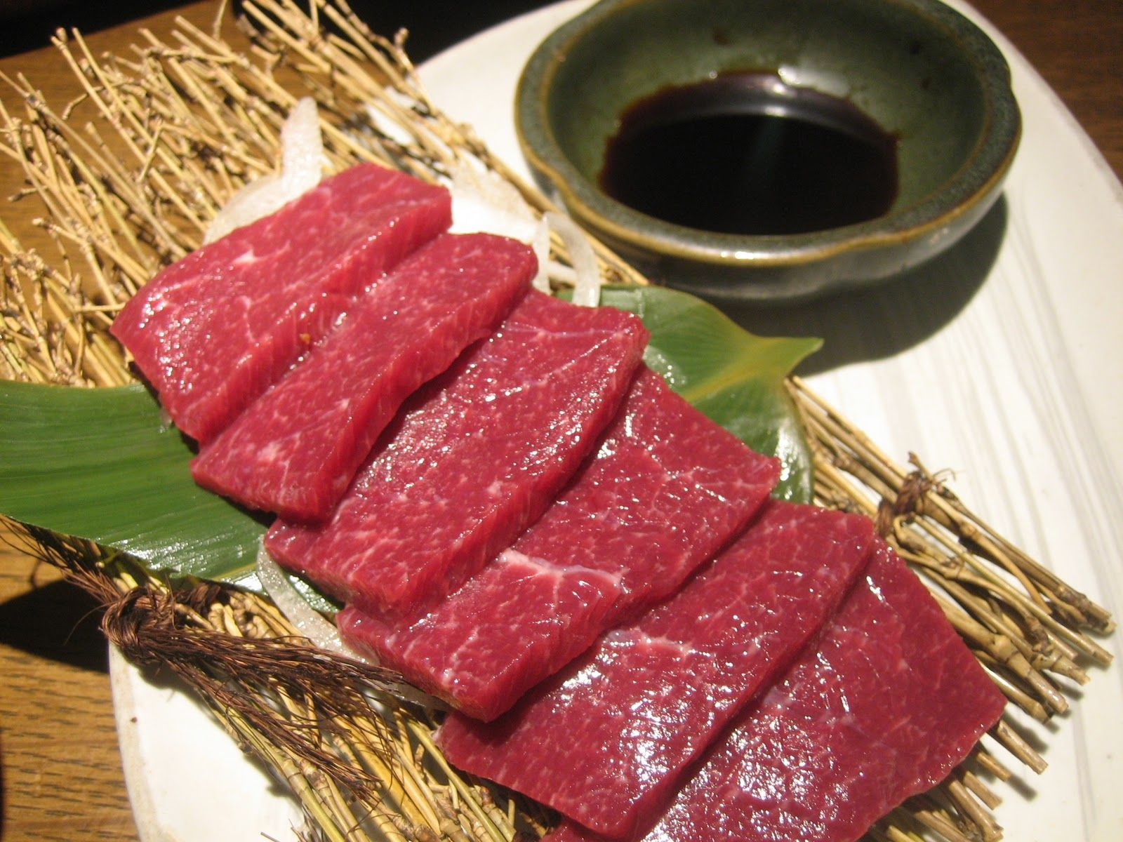 Japanese raw horse meat