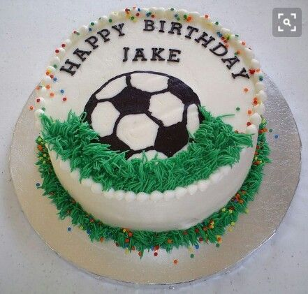 Pin by Dorota on sport Pinterest Cake Birthday cakes and Soccer