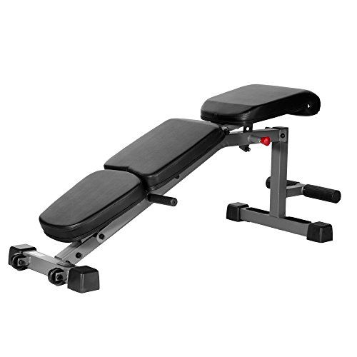 Xmark Adjustable Fid Flat Incline Decline Dumbbell Bench