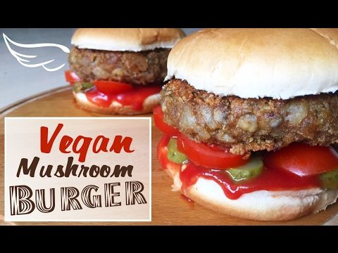 How to make vegan burgers with mushrooms easy and simple vegan do you love or secretly like junk food well now we have option this is really healthy junk food recipe if you want to know how to make vegan burgers forumfinder Gallery